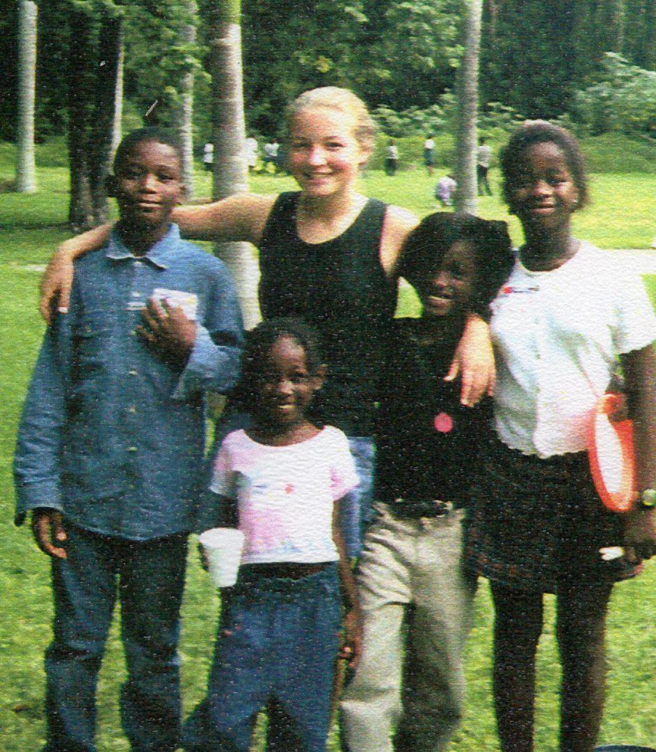Bethany and Haitian Children