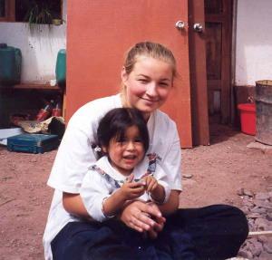 Little friend in Peru